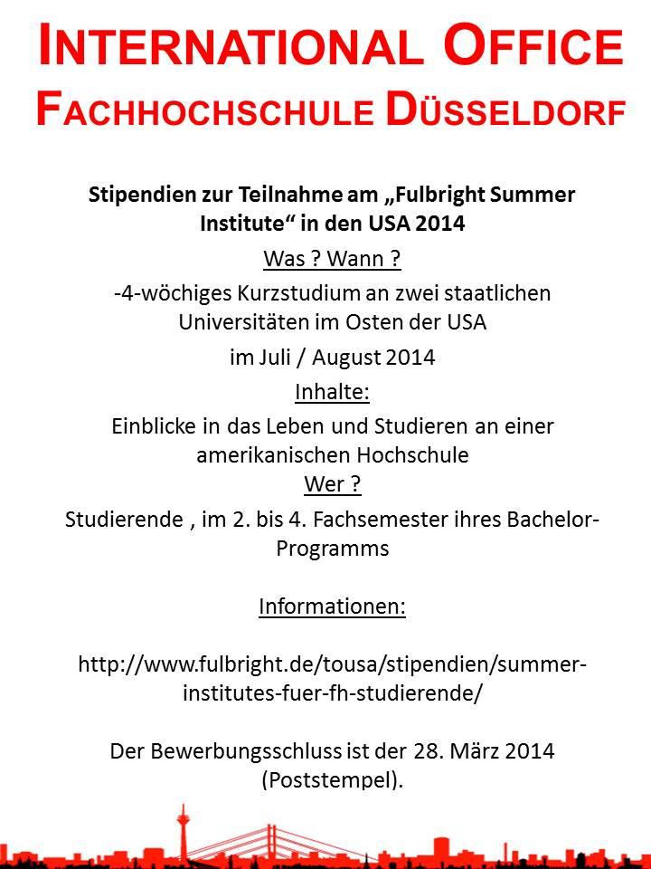 Aushang_Fulbright_Summer-Institutes