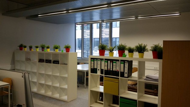 Der Lernraum ist nun auch offiziell geöffnet!