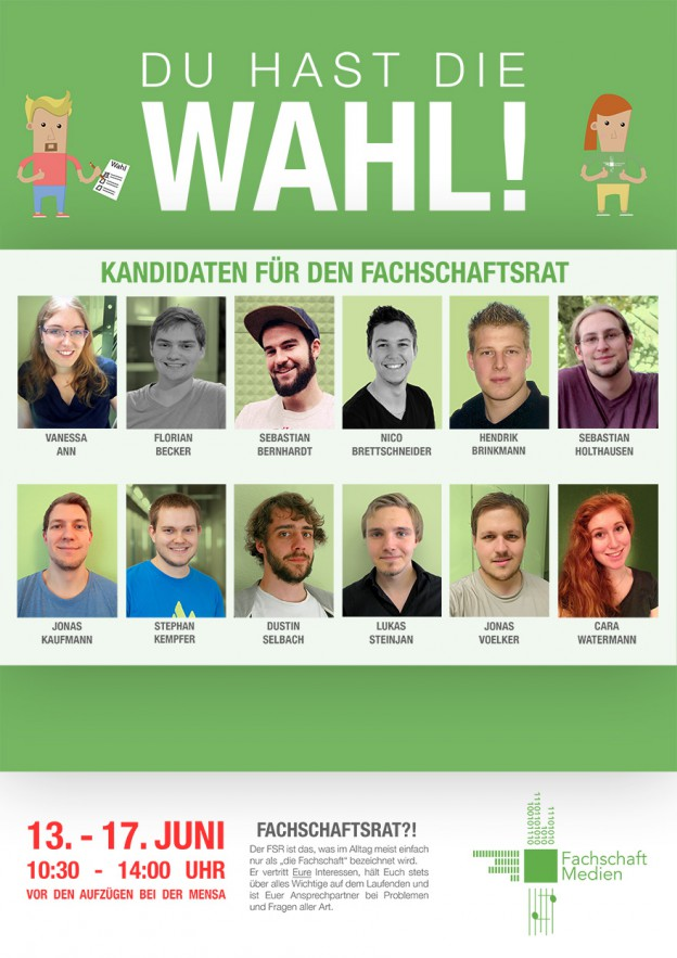 Plakat FSR-Wahl 2016